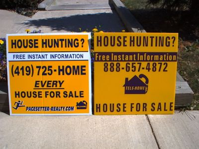 Business Yard Sign